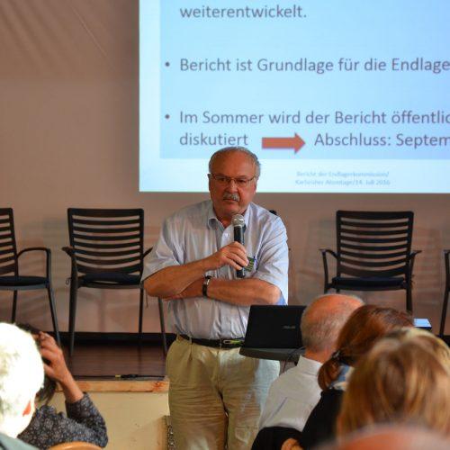 Endlagersuche, Prof. Dr. Wolf Schluchter