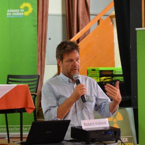 Umweltminister RobertHabeck, Zwischenlagerung