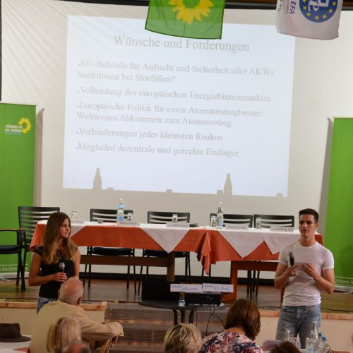Jugendforum: Wünsche und Forderungen an Europa